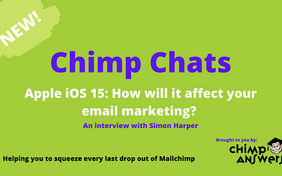 Chimp Chats – Apple iOS 15: How It Will Affect Your Email Marketing Episode 13